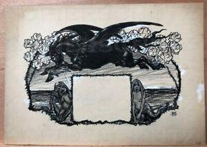 Zeichnung-JUGEND-1904-Pegasus-Detlev-v-Liliencron-Poggfred-Arpad-Schmidhammer