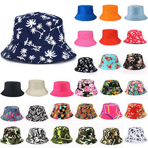 Bucket-Hat-Cotton-Fishing-Beach-Festival-Casual-Sun-Hunting-Summer-Camping-Cap