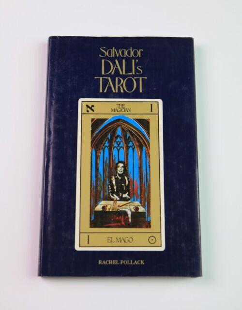 Salvador Dali's Tarot by Rachel Pollack, 1st Edition 1985, Hardback Dust Jacket