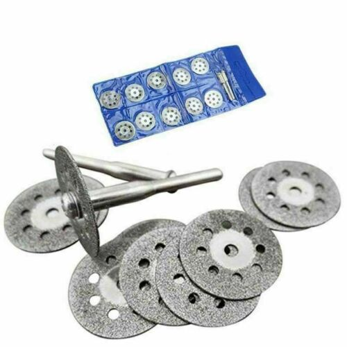 10 22mm Diamant Glas Metall Cut Off Wheel Trennscheibe Schleifscheibe Cutting XS