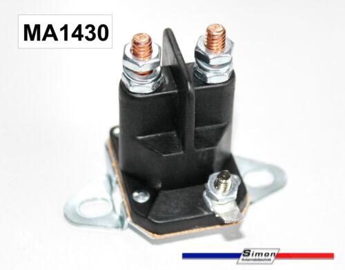 Magnetschalter Batterieschalter Startrelais für Tecumseh Sabo Rasentraktor