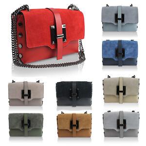 Glamexx24-Clutch-echt-Leder-Tasche-Abendtasche-mit-Kette-Umhaengetasche-M-Italy