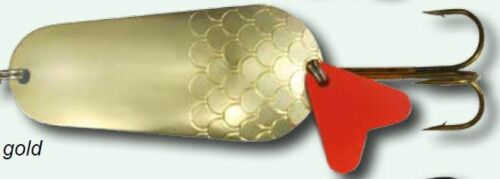 Blinker Zeth goldfarben 45g 8,5cm