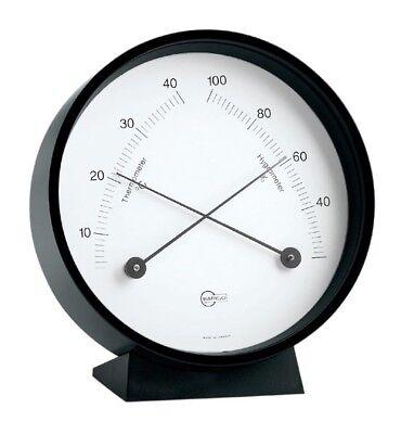 Thermometer Hygrometer Barigo Home Schwarz Hängen Stellen 85mm Einen Effekt In Richtung Klare Sicht Erzeugen
