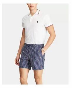 Polo Ralph Lauren Hombre Pantalones Cortos Rayas Veleros M L Xl Pulgadas Ebay