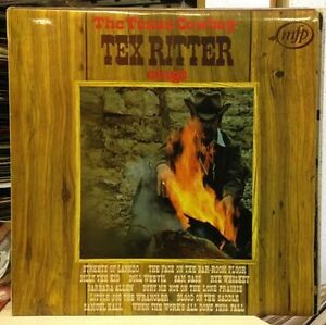 TEX-RITTER-The-Texas-Cowboy-UK-Vinyl-LP-EXCELLENT-CONDITION