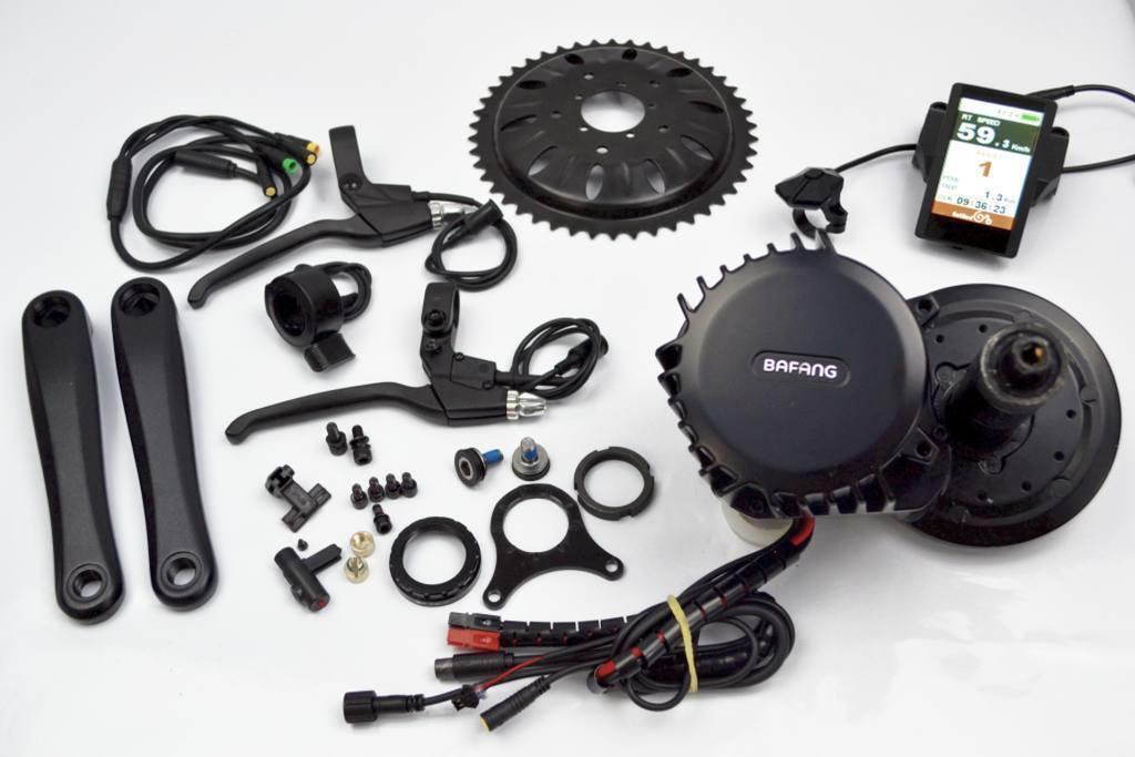 Bafang 8divertiuominito BBS02 250 W 36 motor Coloreee C850  USB elettrica bicicletta