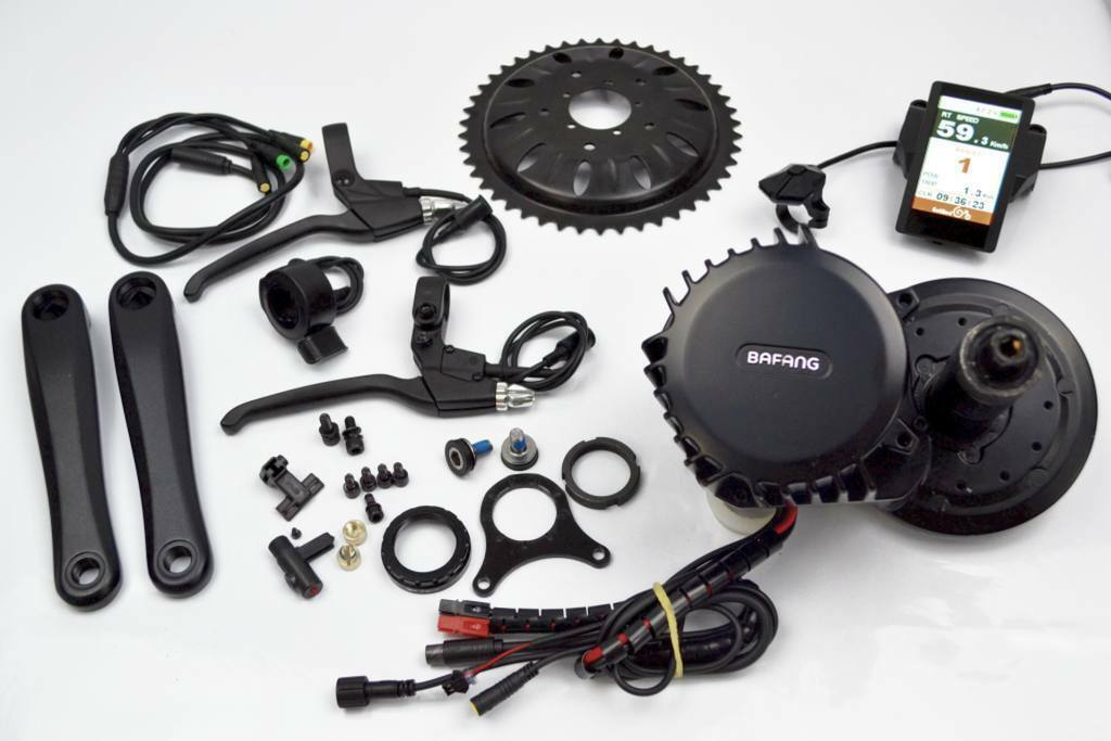 Bafang 8FUN BBS02 250 W 36 Kit motor Color C850 presa USB elettrica bici