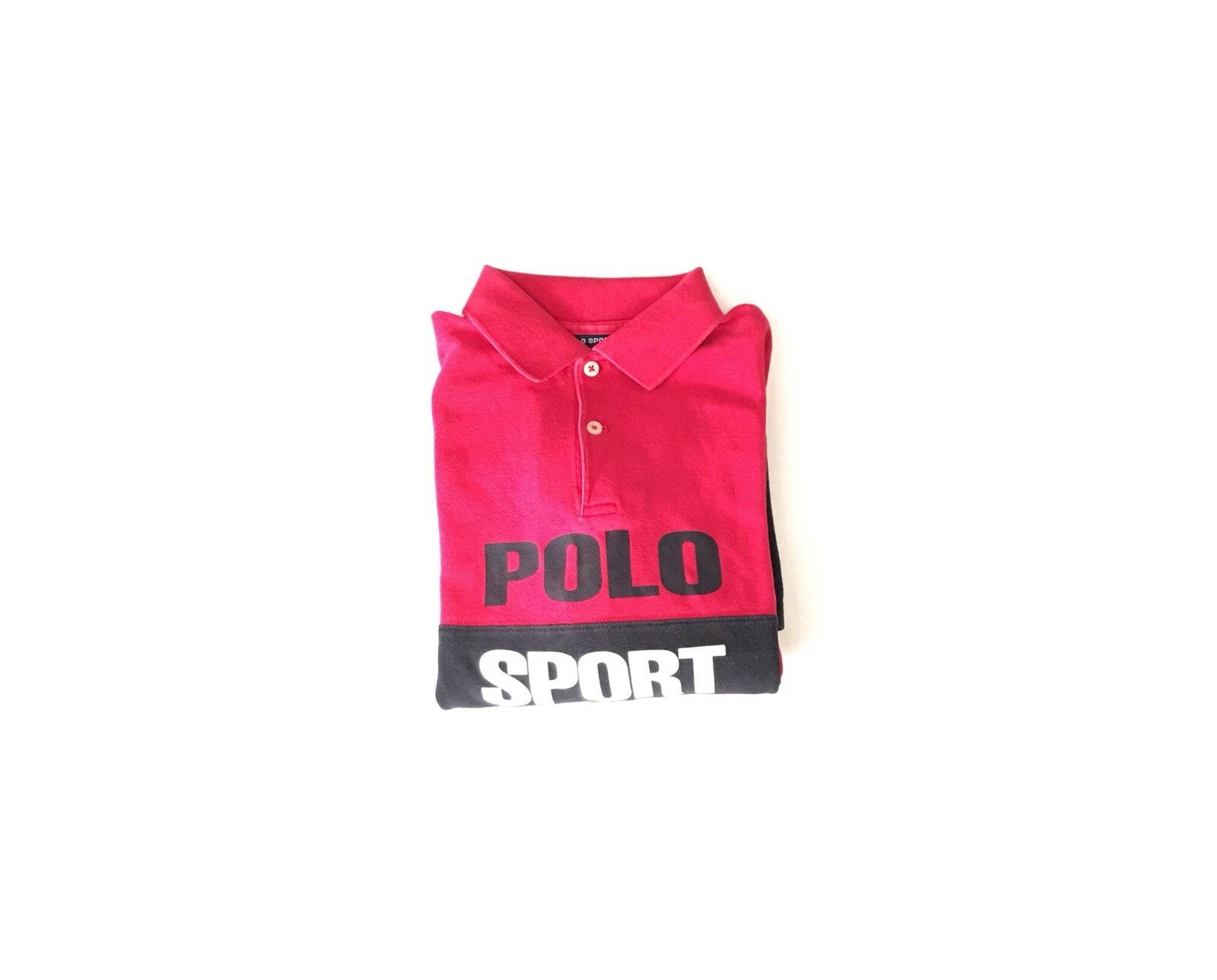 Vintage Polo Sport Spell Out 1990s Polos T Shirt Rugby Tee RL
