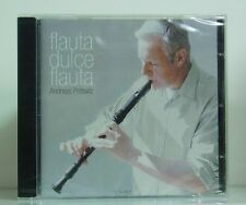 CD Andreas Prittwitz flauta dulce flauta Bresgen Staeps Bach Van Eyck..Irina ovp