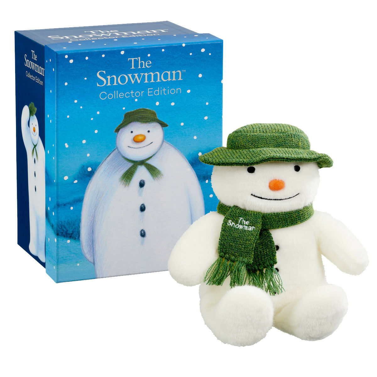THE SNOWMAN COLLECTOR EDITION 25CM PLUSH IN GIFT BOX SOFT TOY NEW CHRISTMAS
