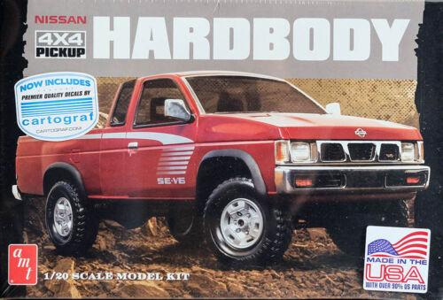 Nissan 4x4 Pickup Hardbody D21 Truck 1:20 AMT Model Kit Bausatz AMT1031