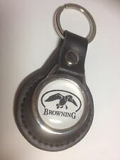 Browning Firearms: GENUINE LEATHER KEYRING, Guns/shooting