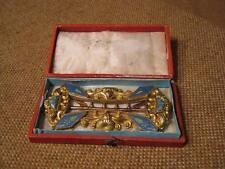 ███►Rarität alte Gürtelschnalle/200er Gold mit Emaille um 1800/Russland