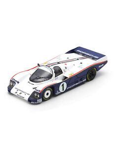 SOLIDO-1805501-PORSCHE-956-LH-race-car-Winner-24hr-Le-Mans-1982-Ickx-Bell-1-18th