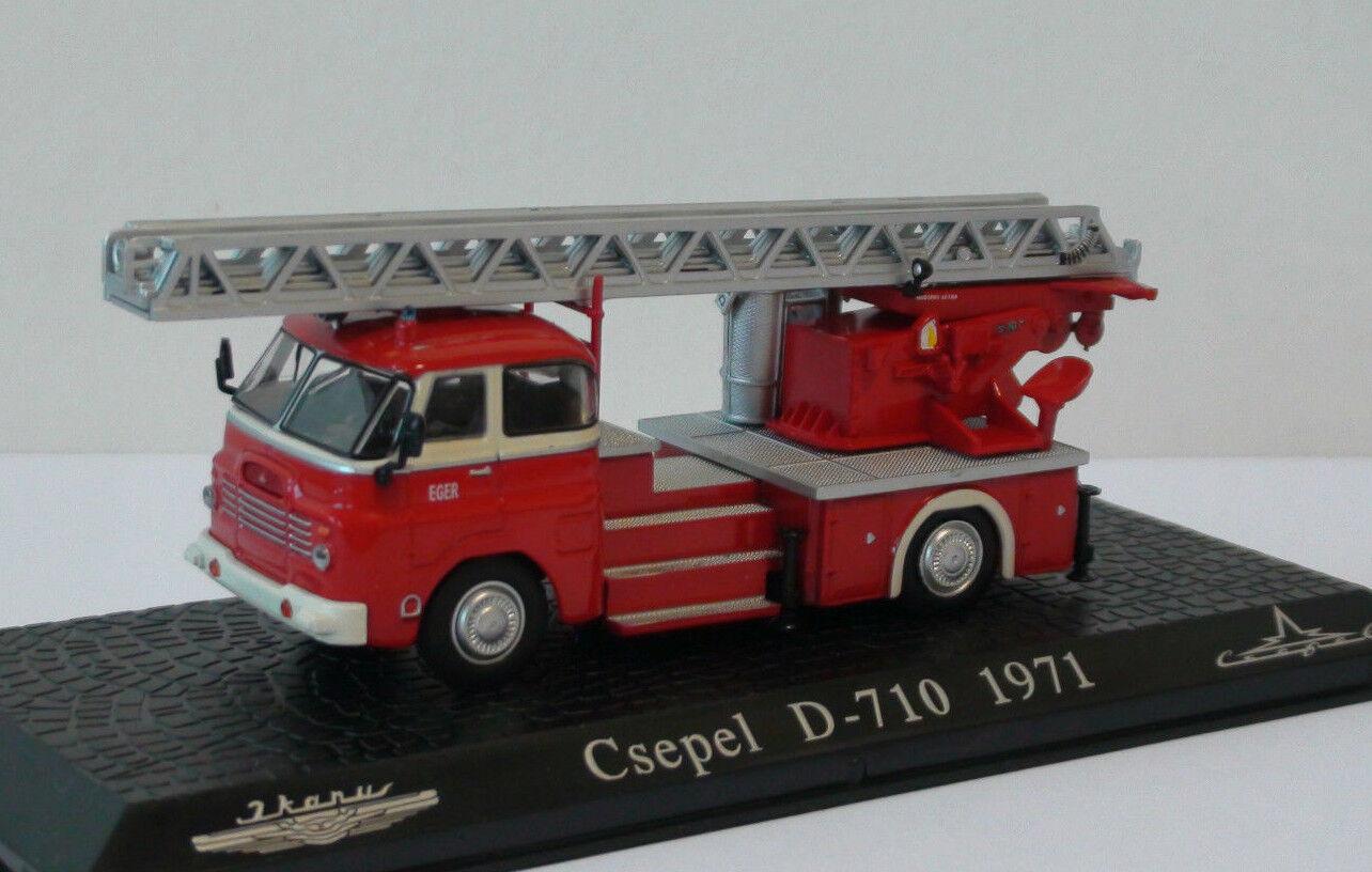 Ikarus Csepel D-710 1 72 Atlas Editions Hungarian Fire Engine, Feuerwehr