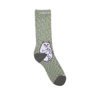 Genuine Rip N Dip Lord Nermal Socks - Grey Speckle (One Size)