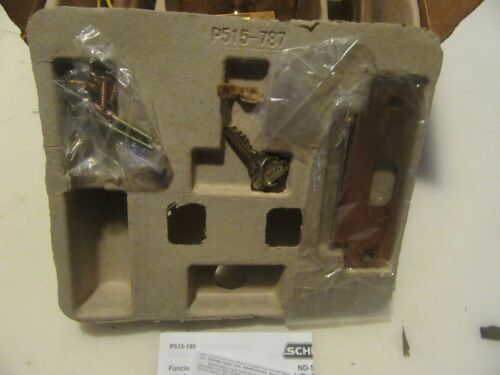 R71 SCHLAGE ND80PDEU RHO 612 STOREROOM LOCK NEW FREE SHIPPING