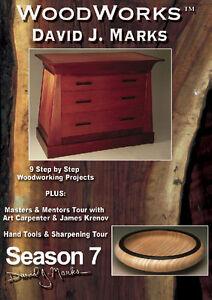 Details About David J Marks Woodworks Season 7 Dvd Woodworking Furniture Instruction Diy Video
