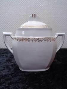 Art-Deco-Diseno-M-amp-S-Porcelana-Azucarero-Vintage-Um-1920-30-Francia