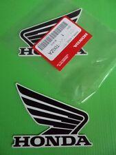 Honda CRF CBR CBX CM XR VTR CBF VFR Decal Sticker BLACK / WHITE *ORIGINAL HONDA*