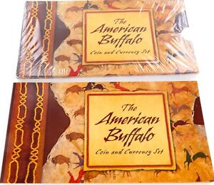 2001-THE-AMERICAN-BUFFALO-COIN-amp-CURRENCY-SET-MINT-CONDITION