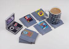 Nintendo NES Cartridge Coasters Classic Retro Gaming Drink Mats