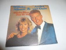 "WILLEKE ALBERTI & ANDRE VAN DUIN - 1987 Dutch 7"" Juke Box Vinyl Single"