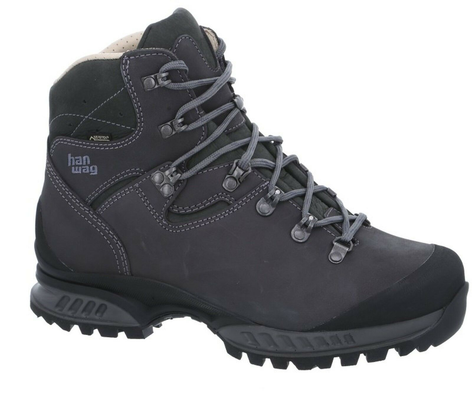 Hanwag montaña zapatos Tatra II GTX tamaño 11,5 - 46,5 asfalto