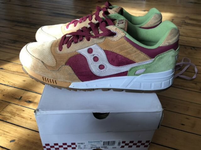Saucony Shadow 5000 x End Burger Very Rare Sneakers Shoes Size 12