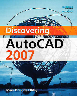 Discovering AutoCAD by Dix, Mark -ExLibrary