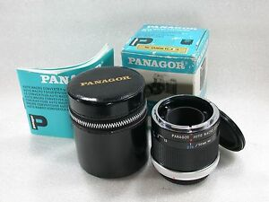 Panagor-MACRO-Converter-To-1-1-Canon-FD-Fit-For-Canon-A1-AE-1-T90-Case-amp-Box