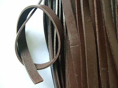 1 Yard 10*2mm Black Coffee Flat Real genuine Leather Cord For Jewelry Making