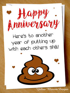 Funny-Anniversary-Card-Putting-Up-Wedding-Husband-Wife-Couple-Joke-Blunt-Rude