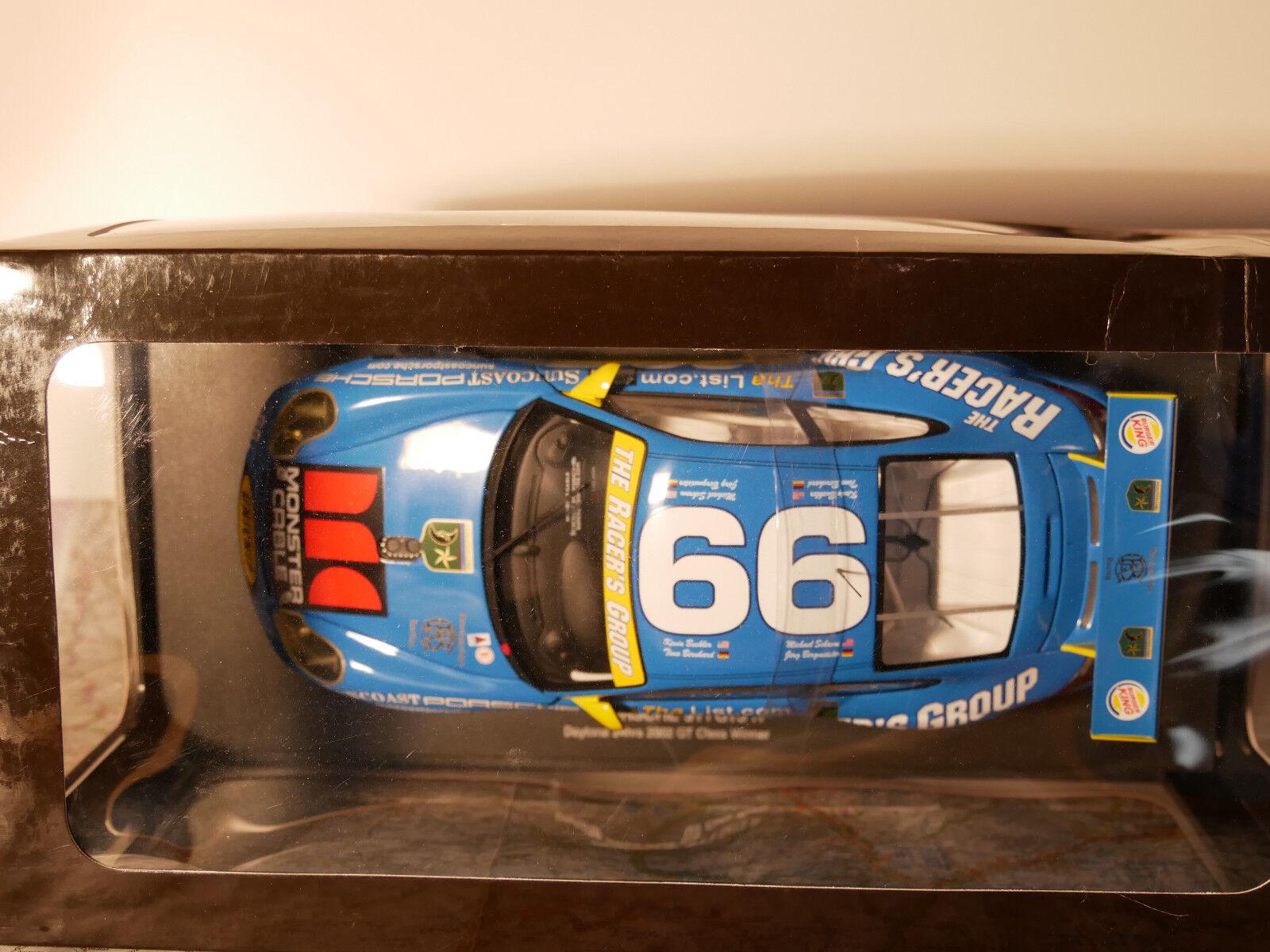 AURO ART PORSCHE 911 GT3 R DAYTONA 24HRS 24HRS 24HRS 2002 CLASS WINNER ART.80273 1 18  NEW 5460e5