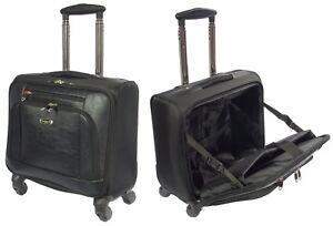 Roues-Pilote-case-noir-Trolley-Ordinateur-Portable-Business-Travel-Cabin-Approuve-nouveau-sac