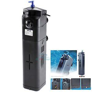 NEW-DESIGN-9W-UV-Sterilizer-w-Adjustable-Pump-Filter-75-gal-Aquarium-Fish-Tank