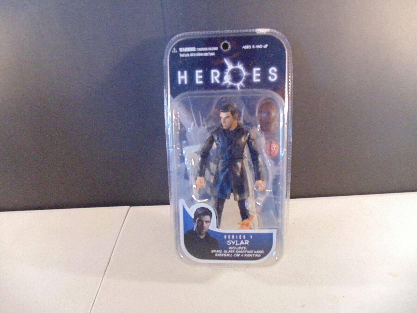 Heroes Series 1 1 1 Sylar Action Figure Mezco 51c857