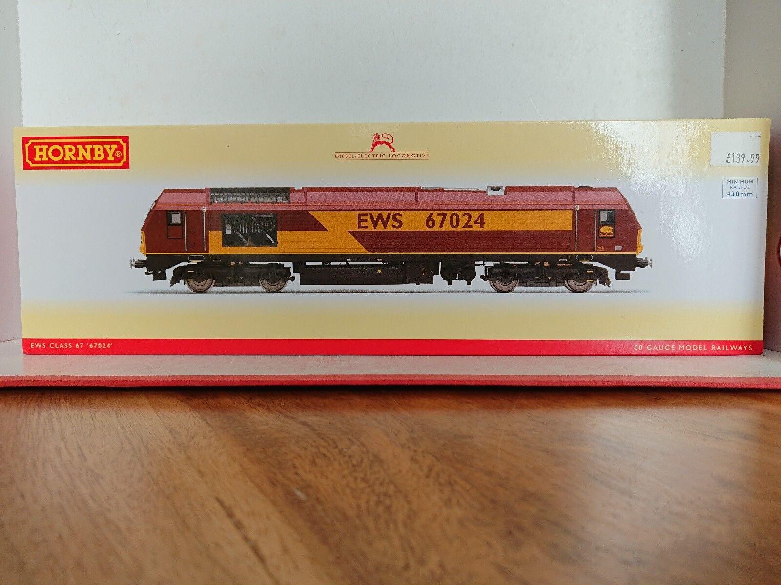 Hornby R3349 EWS Class 67 No.  67024  DCC Ready NEW