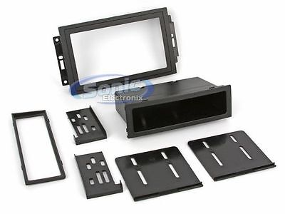 Scosche CR1289B 2005-Up Chrysler//Dodge//Jeep Nav Stereo Replacement Kit