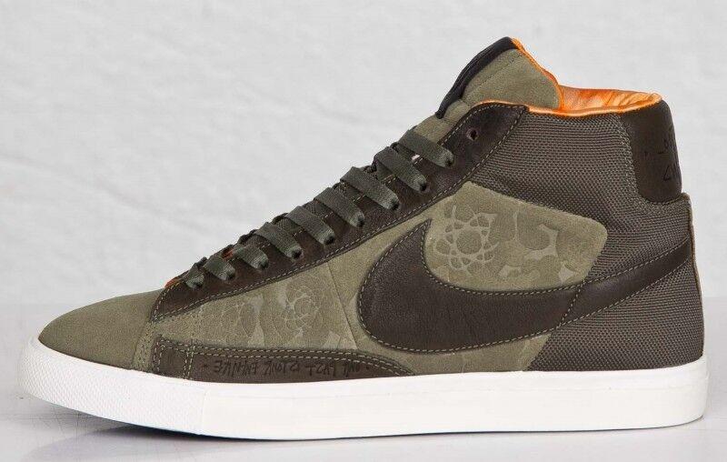 Nike Hombre BLAZER HI US SP MOWAX Gr. 39 US HI 6,5 Sneaker Turnschuh 718768 008 Olive db026d