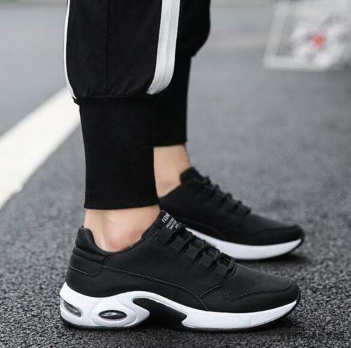 mens autumn round toe flat Athletic driving hiking sports shoes comfortable New