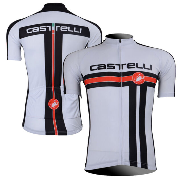 Mens Cycling Short Sleeve Jersey Racing Bike Shirt Sweater Maillots Tops Uniform