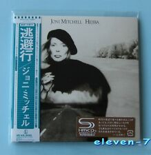 JONI MITCHELL HEJIRA Japan mini LP CD SHM brand new & still sealed