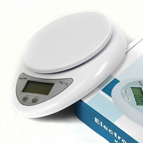 LCD Digital Kitchen Scale Diet Food Balance 5KG 11LBS Electronic Weight