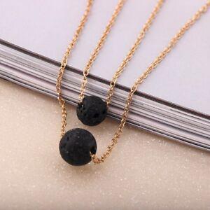 Lava Rock Oil diffuser Necklace Essential Oil Diffuser Necklace Lava Rock Choker