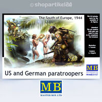 MASTER BOX 35157 - US & German paratroopers South of Europe 1944 - 1:35 MB35157