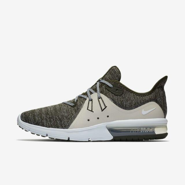 detailed look cc8e8 d51bb Frequently bought together. Nike Air Max Sequent 3 Mens 921694-300 Sequoia  Summit Running ...