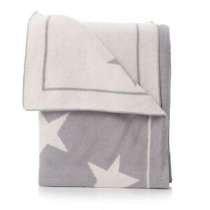 "70 x 90cm Shruti /""Hush Little Baby/"" Blue or Pink Cotton Blanket"
