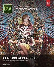 Classroom in a Book: Adobe Dreamweaver CC by Jim Maivald (2015, Paperback / Mixed Media, Workbook)